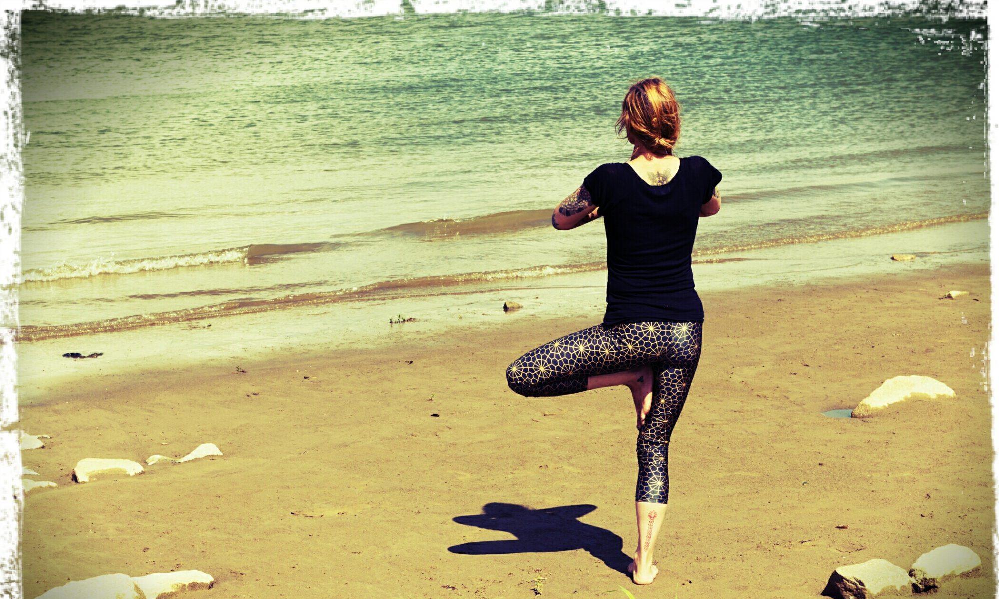 Maaike geeft Yoga